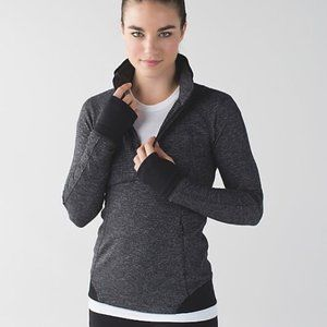Lululemon runderful 1/2 zip jacket